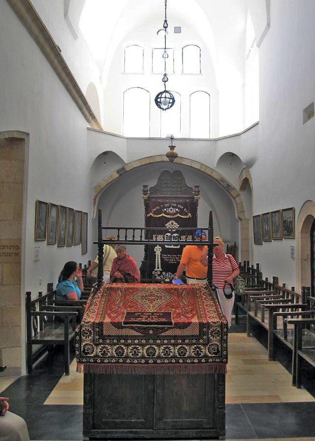 Middle synagogue