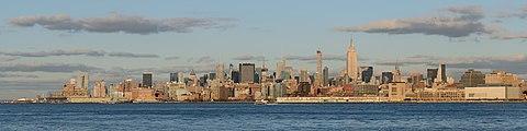 Midtown Manhattan from Jersey City November 2014 panorama.jpg