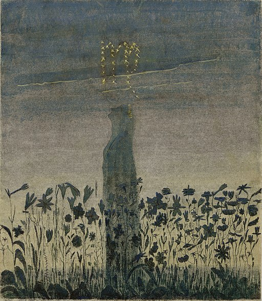 Mikalojus Konstantinas Ciurlionis - THE SUN IS PASSING THE SIGN OF VIRGO - 1906 - 7