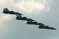 Mikoyan MiG-31 Foxhound formation - Zhukovsky 2012 (8710853605).jpg