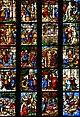 Milano, Duomo, Vetrata di santa Caterina, Braccio sud del transetto, XVI secolo 05.JPG
