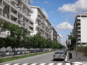 Milano Santa Giulia - Image: Milano via del Futurismo