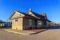 Milwaukee Road Depot (Marinette, Wisconsin) September 2013 03.jpg