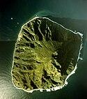 南硫黄島航空写真