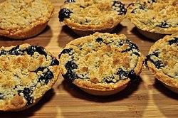 Miniature blueberry pies.jpg