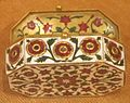 Miniature box, North India, 18th-19th century, gold, rubies, diamonds and enamel, HAA.JPG