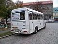 Minibus ČSAD Polkost 1632, zezadu.jpg