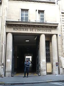 Ministero dell 39 interno francia wikipedia for Adresse ministere de l interieur