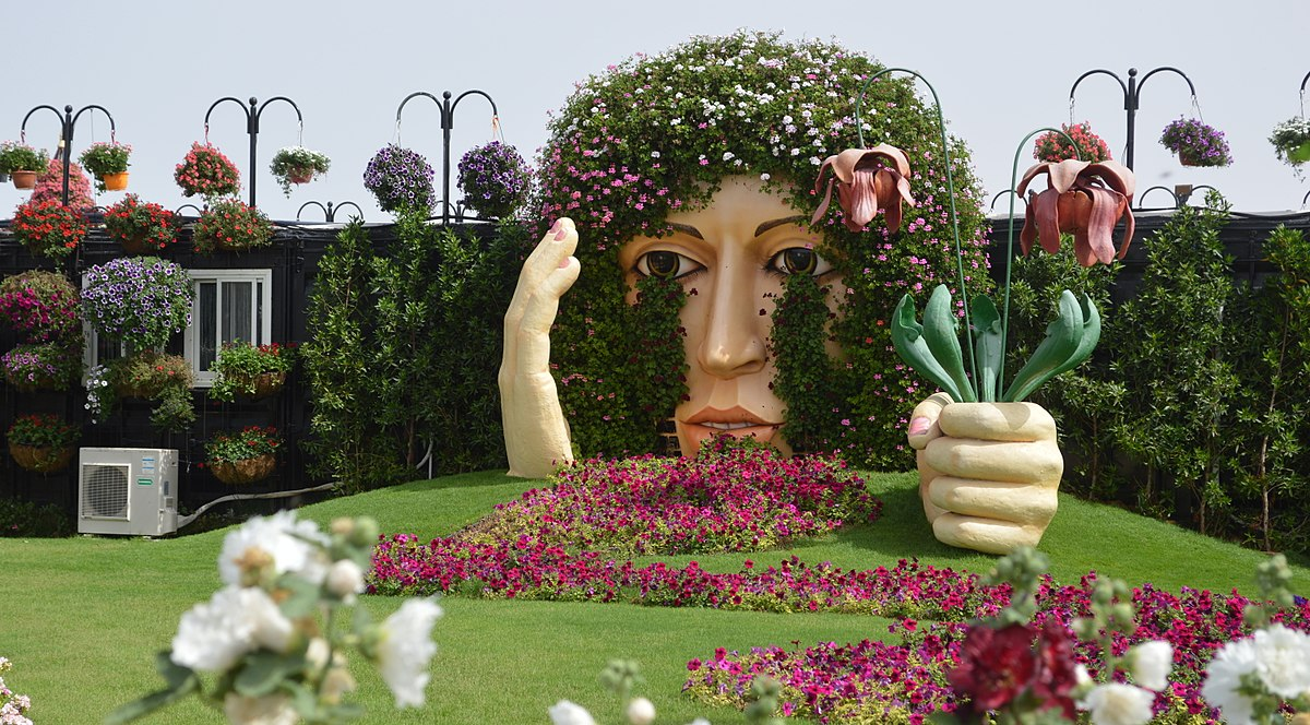 dubai miracle garden wikipedia - Miracle Garden Dubai