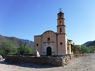 Batopilas, Chihuahua - Mission of Santo Ángel Custodio de Satevó near Batopilas (2017)