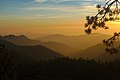 Mixed mountain and highland systems at sunset (Sequoia-Kings Canyon UNESCO-MAB Biosphere Reserve).jpg