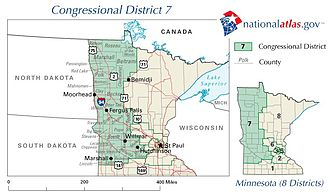 Minnesota's 7th congressional district - 2003 - 2013