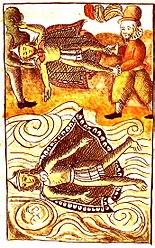 Moctezumas død