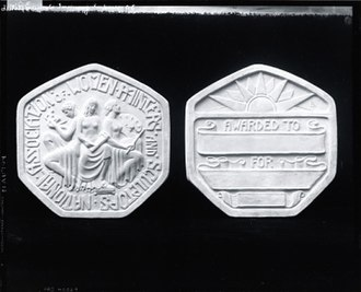 National Association of Women Artists - Image: Model for the National Association of Women Painters and Sculptors Medal (obverse and reverse)