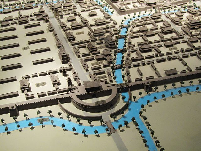 Model of Bianjing during the Song Dynasty