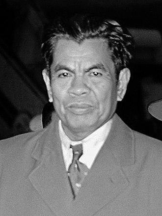 Mohammad Yamin - Mohamad Yamin in 1954