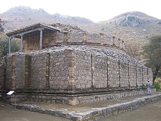 History of education in the Indian subcontinent - The Mohra Muradu monastery at Taxila, in modern-day Pakistan.