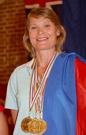 Natalia Molchanova - Natalia Molchanova at the 2009 Freediving World Championships