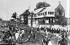 Monrovia in the 1800s.