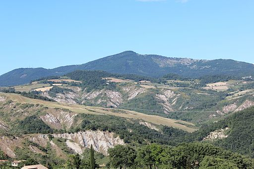 Monte Cetona seen from West, Province of Siena