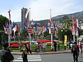 Monte Carlo flags and fountain.JPG