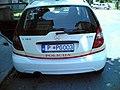 Montenegro Police license plate.jpg