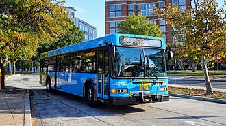 Ride On (bus) - Image: Montgomery County Transit Ride On 2017 Gillig LF Advantage Diesel