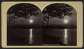 Moonlight on Lake George, by Stoddard, Seneca Ray, 1844-1917 , 1844-1917.png