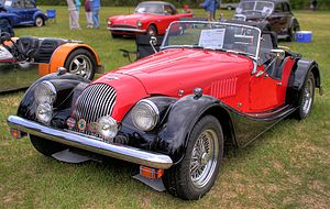 Morgan Plus 8 - Image: Morgan Plus 8 1993 1 A2