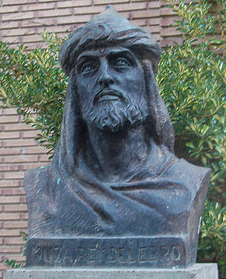 Musa ibn Musa ibn Qasi - Bust in honour to Musa ibn Musa in Tudela, Navarre.