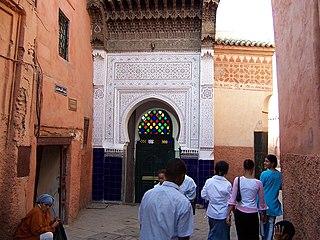 Zawiya of Sidi Abd el-Aziz Religious building in Marrakesh, Morocco