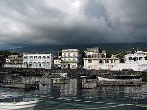 Moroni, Comoros - Moroni in early July 2008