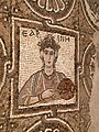 Mosaic of a woman, Petra Church.jpg