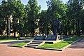 Moscow, 1st Krasnokursantsky Proezd Normandie-Niemen memorial (30648573583).jpg