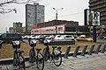 Moscow, rental bicycles in New Arbat Street (30998484506).jpg