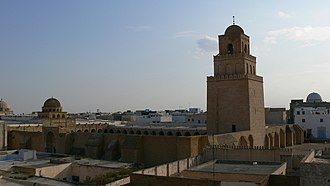 Religion in Tunisia - Mosque of Uqba in Kairouan, Tunisia