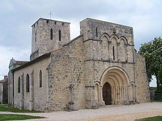 Moulis-en-Médoc - Image: Moulis Church 33 France