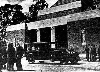 Mount Thompson crematorium - The first cremation service 11 Sep 1934