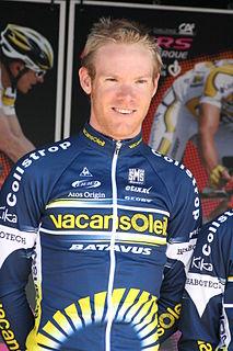 Jens Mouris Dutch cyclist