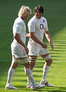 Mouritz Botha and Tom Palmer, Twickenham - May 2012.jpg