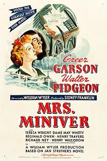 Mrs Miniver Wikipedia