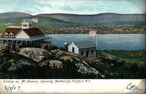 Beacon Mountain - Casino, from a 1907 post card