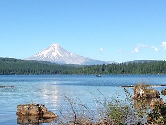 Mount Hood - Mt. Hood as seen from Timothy Lake.