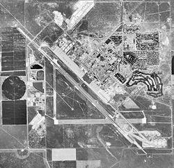 Luftbild der Basis