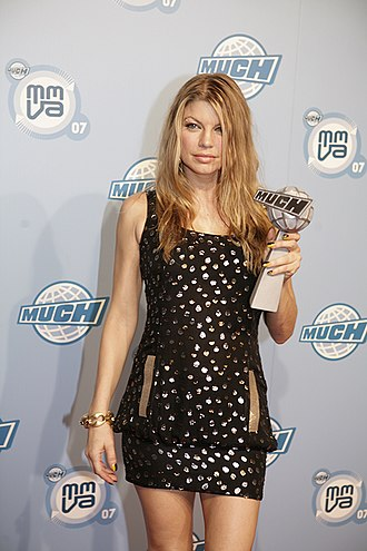 Fergie (singer) - Ferguson at the 2007 MuchMusic Video Awards on June 17, 2007