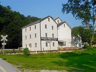 Muddy Creek Forks Historic District