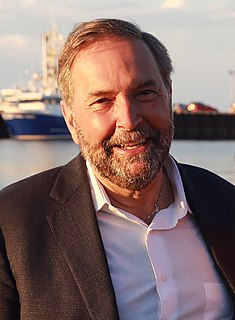 Tom Mulcair Canadian lawyer and politician