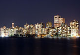 Bombay desde Nariman Point, India