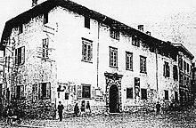 Palazzo Pretorio prima dei restauri del 1917