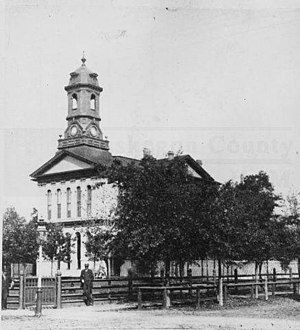 Muskegon County, Michigan - Image: Muskegon County Courthouse, 1885